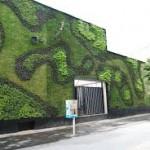 Los Jardines Verticales  son garantia de ahorro energetico para un edificio.